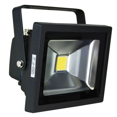Foco 20W LED Flood Light Black IP65