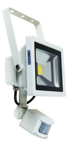 Foco 20W LED Sensor Flood Light White IP44