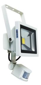Foco 20W LED Sensor Flood Light White IP44