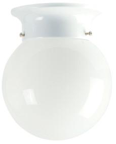 15cm Jetball Batten Fix Opal / White