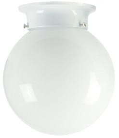 20cm Jetball Batten Fix Opal / White