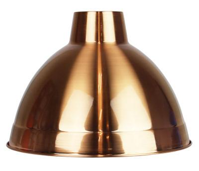 Yard 35 Brushed Copper Metal Shade E27