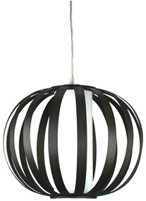 Buco Brown Strips Pendant Shade Only E27