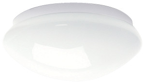Mond T5 Fan Light White / Gloss Opal With Tube