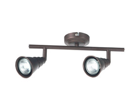 Fashionista 2-Light GU10 Spotlight Rubbed Bronze