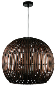 Satori 72 Pendant Dark Brown