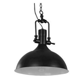 Industrial Single Pendant Black