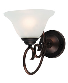 Gaston 1-Light Wall Light Bronze