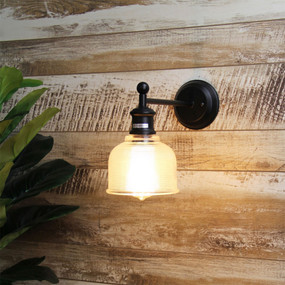 Period Vintage Wall Light Black