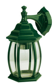 Highgate Down Exterior Wall Light Green
