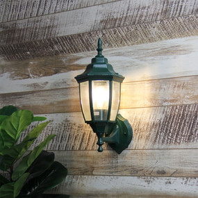 Period Up Exterior Wall Light Green