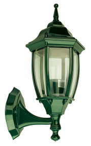 Highgate Up Exterior Wall Light Green