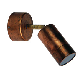Sublime Adjustable Copper Outdoor Wall Light
