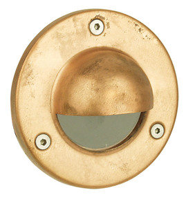 Rocco - Hooded Low Voltage Recessed Exterior Copper
