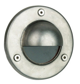 Rocco - Hooded Low Voltage Recessed Exterior Stainless