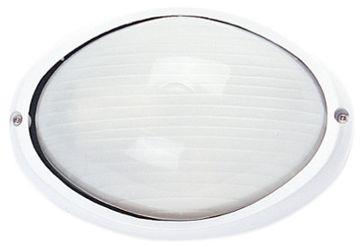 Galaxy Bunker Plain Small Oval White