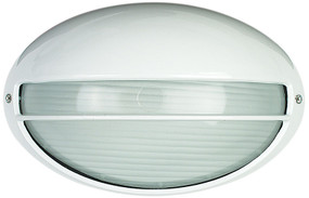 Galaxy Bunker Solid Eye Small Oval White