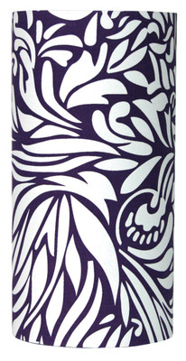 Floral Pattern Purple Shade
