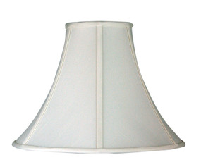 Empire Shade Off-White Shantung E27 - 13 cm