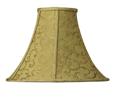 Empire Shade Old-Gold Jacquard E27 - 13 cm