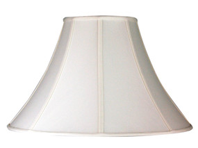 Empire Shade Off-White Shantung E27 - 18 cm