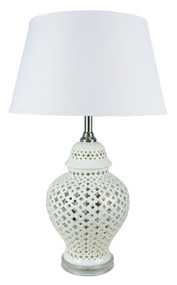 Galla Moorish Cut Complete Table Lamp