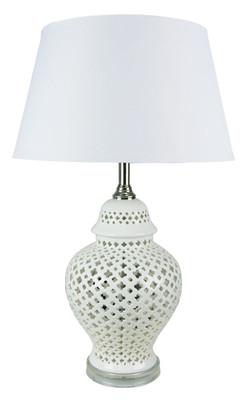 Galla Moorish Cut Complete Table Lamp