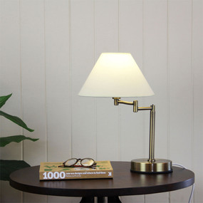 Touch Lamp Antique Brass