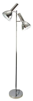 Vespa Twin Floor Lamp Chrome