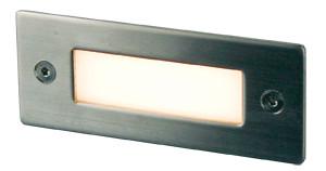Slot 12 LED Recessed Wall Light 3000K