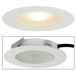 Magro LED Recessed Cabinet Light White