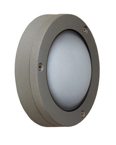 Circo LED Plain Outdoor Light Silver