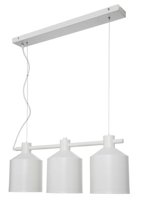 Syphon 3-Light Metal Pendant - White