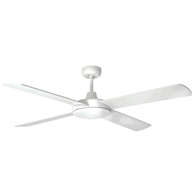 Tempest 52 Inch DC Ceiling Fan With Remote - White