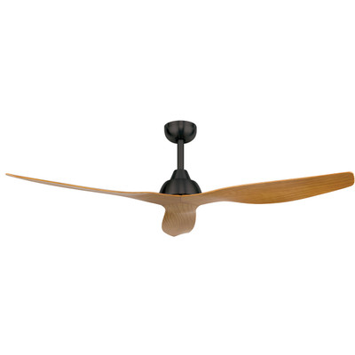 Ceiling Fan With Remote - 52 Inch DC 5 Speed, Maple - Bahama