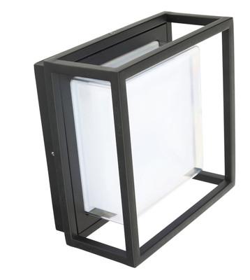 Exterior LED Wall Light - Bunker Design, Square - Bolton