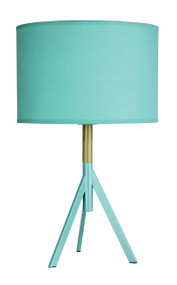 Chic Table Lamp - Teal Green, Retro - Micky