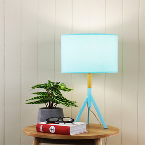 Modern Chic Table Lamp - Teal Green, Retro - Micky
