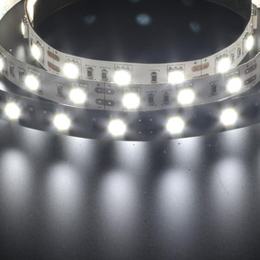 Flexible 60 LED Strip - 14.4W 12V / White LED