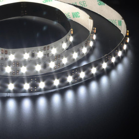 Flexible 120 LED Strip - 19.2W 12V / White LED