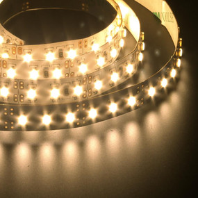 Flexible 120 LED Strip - 19.2W 12V / Warm White LED