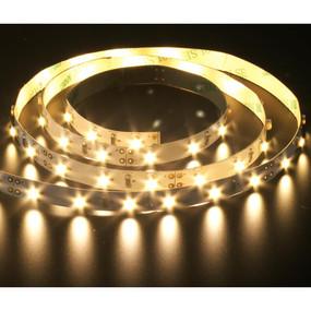 Flexible 60 LED Strip - 4.8W 12V / Warm White LED