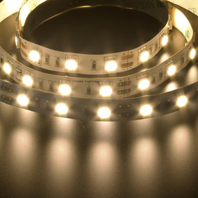 Flexible 60 LED Strip - 14.4W 12V / Warm White LED