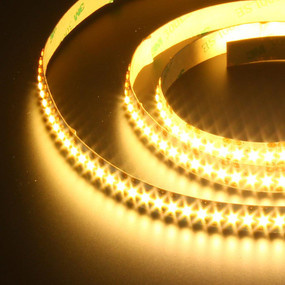 Flexible 204 LED Strip - 24.5W 12V / Warm White LED