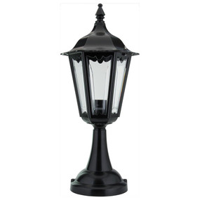 Chester Pillar Mount - Black Finish / B22
