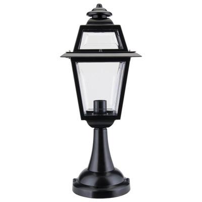Avignon Pillar Mount Light - Black Finish / B22