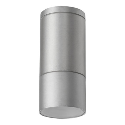 Cylindrical 240V LED Ceiling Light - Anodised Finish / Body Only