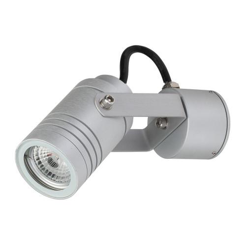 Adjustable 240V LED Spotlight - Aluminium Finish / Body Only