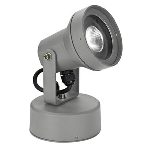 240V 9W LED Spotlight - Silver / White LED