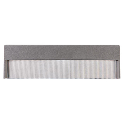 4W Recessed Steplight - Silver Frame / White LED